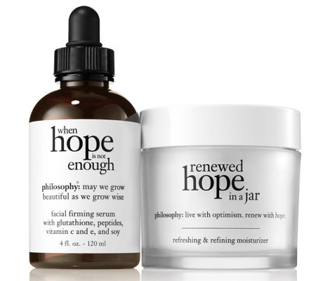 philosophy super-size renewed hope & when hope is not enough duo