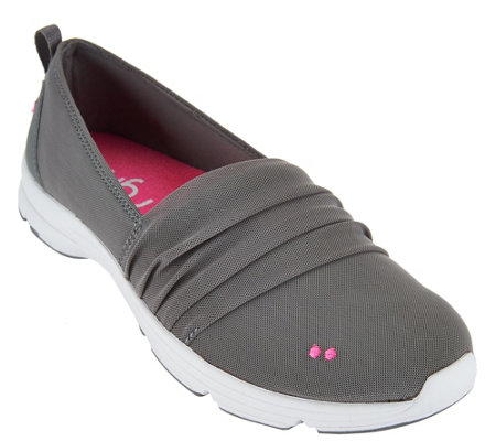 """As Is"" Ryka Slip-on Sneakers w/ CSS Technology - Jamboree"