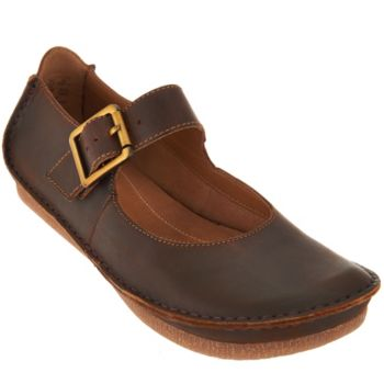 Clarks Artisan Leather Mary Janes - Janey June