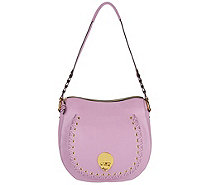 orYANY Pebble Leather Shoulder Bag- Janessa - A289576