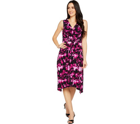 Kelly by Clinton Kelly Sleeveless Dress with Braided Waist