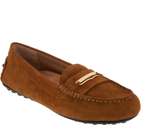 Vionic Orthotic Leather Loafers - Ashby