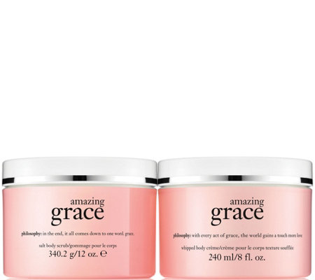 philosophy grace scrub & creme body treatment Auto-Delivery