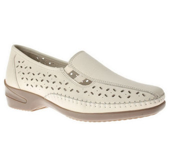 Spring Step Style Amari Leather Slip Ons - A323276