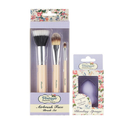 The Vintage Cosmetic Company Flawless Skin Set