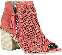 Sole Society Peep Toe Booties - Dallas - A357576