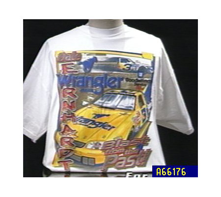 "Dale Earnhardt Wrangler ""Blast from the Past"" T-shirt"