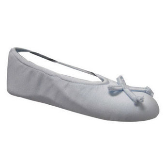 MUK LUKS Stretch Satin Ballerina - A170077