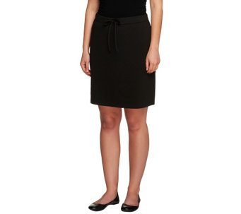 Liz Claiborne New York Pull-On Ponte Knit Skort - A253177