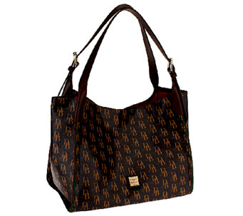 """As Is"" Dooney & Bourke Sutton Hampshire Tote - A267277"