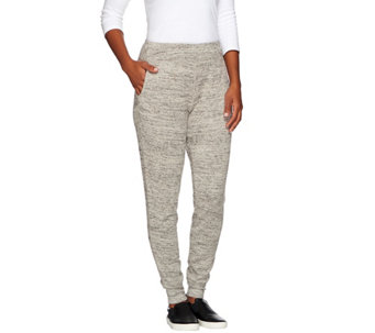 LOGO by Lori Goldstein Sweater Knit Narrow Leg Pants - A269977