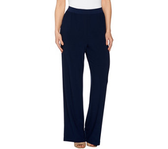 Linea by Louis Dell'Olio Moss Crepe Pants - A273877