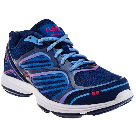 Ryka Mesh Lace-up Walking Sneaker - Devotion Plus