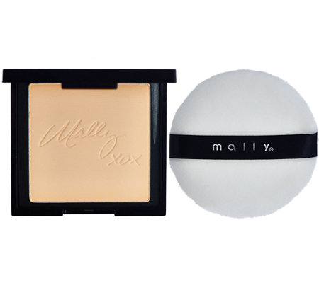 Mally Start-to-Finish Brightening & Finishing Powder w/ Puff