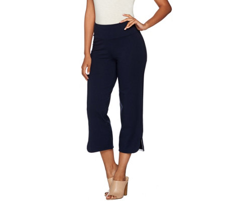 Women with Control Petite Tummy Control Crop Pants