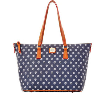 Dooney & Bourke MLB Twins Zip Top Shopper - A280077
