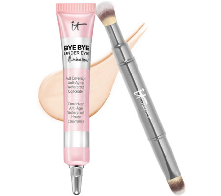 IT Cosmetics Bye Bye Under Eye Illumination with Brush