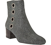 LOGO by Lori Goldstein Ankle Boots with Grommet Detail - A280977