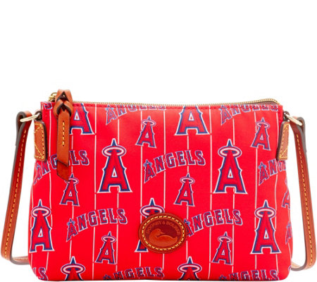 Dooney & Bourke MLB Nylon Angels Crossbody Pouchette