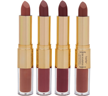 tarte kissing squad 4-pc limited edition lip sculptor set