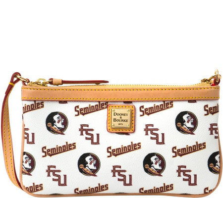 Dooney & Bourke NCAA Florida State University Slim Wristlet
