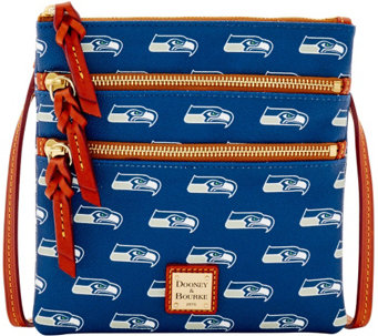 Dooney & Bourke NFL Seahawks Triple Zip Crossbody - A285677