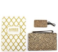 Aimee Kestenberg Pebble Leather Pouch w/Charger