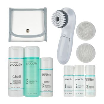 Proactiv 3pc Acne System with Brush & Travel Kit