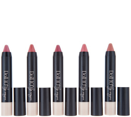 Doll 10 5-piece Lip Crayon Collection