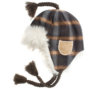 MUK LUKS Women's Two-Color Marl Helmet - A337577