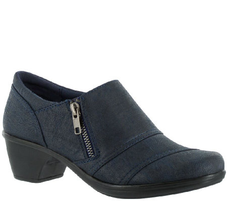 Easy Street Booties with Side Zip - Bryson