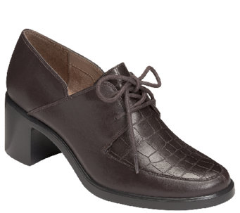 Aerosoles Heel Rest Oxford Pumps - Endearing - A337877