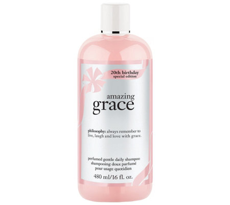 philosophy amazing grace shampoo, 16 oz