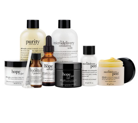 philosophy 7-piece makeup optional resurface kit