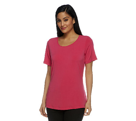 Joan Rivers Luxe Knit Tee Shirt