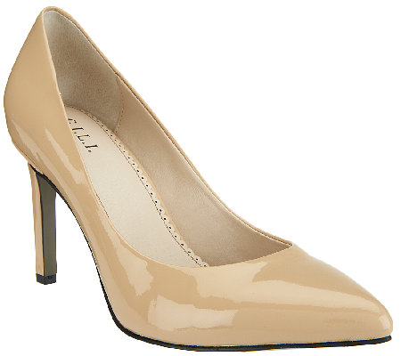 G.I.L.I. Patent Leather Pointed-toe High Heel Pumps - Chantal