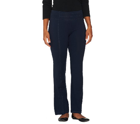 Women with Control Tummy Control Bootcut Pants with Seaming