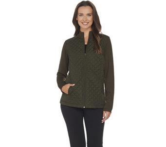 Linea by Louis Dell'Olio Quilted Lightweight Jacket - A267878