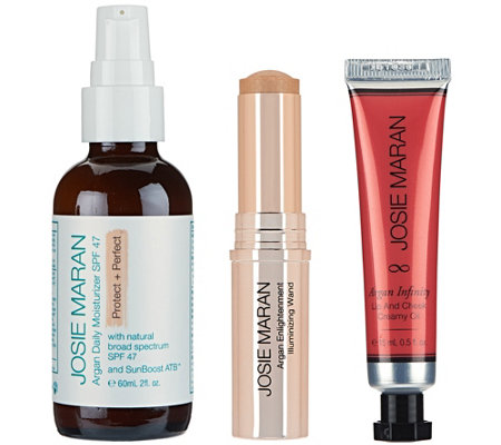 Josie Maran Argan Protect & Illuminate Color Kit