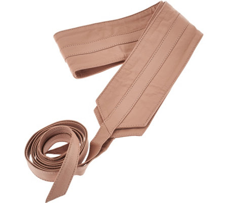 G.I.L.I. Leather Obi Wrap Belt