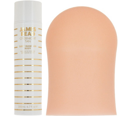 James Read Self Tanning Mask for Body with Mitt
