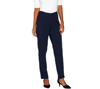 Attitudes by Renee Petite Stretch Supreme Knit Pants - A279578