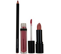 bareMinerals Statement- Worthy 3-pc Lip Wardrobe - A291478