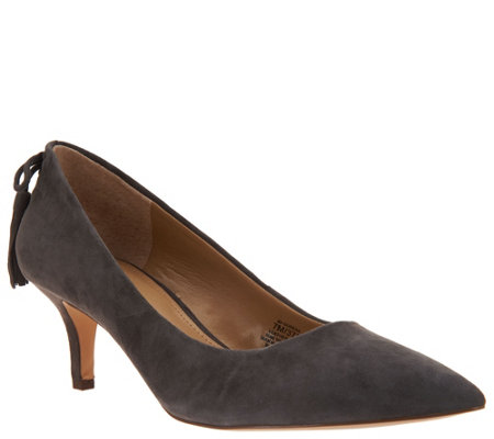 G.I.L.I. Pointed Toe Pumps with Tassels - Brianna