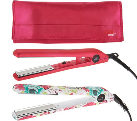 CHI Smart GEMZ Magnify Volumizing Styling Iron w/ Travel Iron