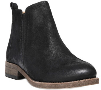 Franco Sarto Leather Ankle Boots - Hancock - A356078