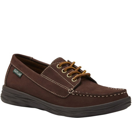 Eastland Lace Up Leather Mocassins  - Castine