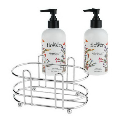 philosophy super clean super soft scented hand care caddy