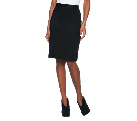 Project Runway by Seth Aaron Luxurious Ponte Knit Skirt