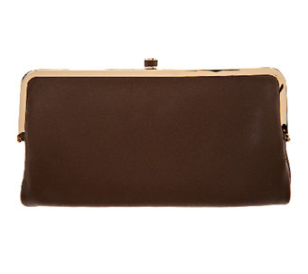 G.I.L.I Mini Clutch Lamb Leather Wallet - A254179